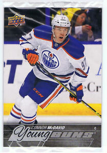 2015-16 UD CONNOR McDAVID Young Guns Jumbo Oversized Rookie Card