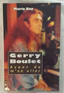 Biographie Gerry Boulet