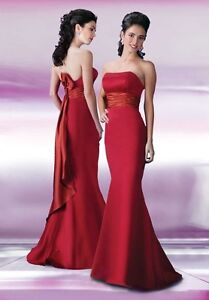 Large Number of Satin Dresses to Choose From