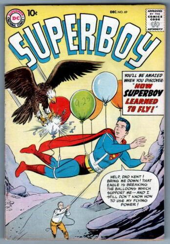 SUPERBOY 69 DC Comics 1958
