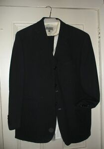 Two quality mens suits - one white shirt - made in Canada Cornwall Ontario image 1