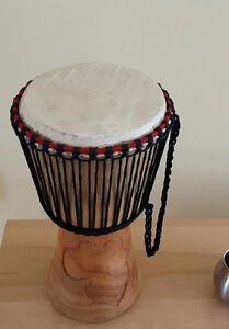 Djembe Drum - Beautifully Carved