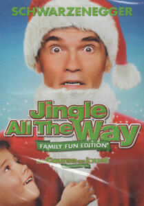 Jingle All The Way Family Fun Edition Brand New and Sealed DVD
