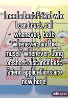 Looking for a FEMALE best friend