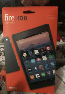 Amazon Fire HD 8 Tablet - 16GB - Like New