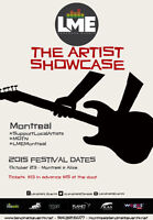 PLAY LME SHOWCASE FESTIVAL OCT.23RD AT ALIZÉ  APPLY NOW!!!!