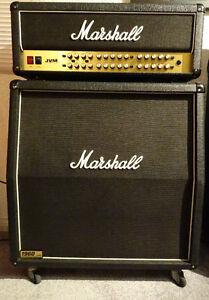 10/10 100 Watt Marshall JVM410H plus 1960A Matching Marshall Cab