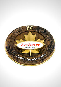 VINTAGE 'LABATT'S BEER/ALE - GREAT NORTH' BAR SIGN/ADVERTISEMENT
