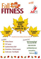 Fall Into Fitness with JusFit Fitness Centre