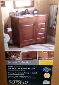 2 SUMMIT COLLECTION BATHROOM VANITIES