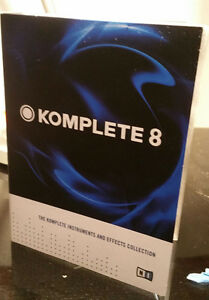 Komplete 8 -Instruments and Effects Collection