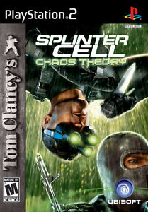 NEW JEU GAME Splinter Cell: Chaos Theory PLAYSTATION 2 PS2