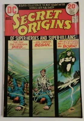 SECRET ORIGINS # 5 - DC COMICS - DECEMBER 1973
