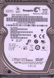 VERY FAST 7200RPM,250GB LAPTOP HARD DRIVE W.LARGE 16MB CACHE-$25