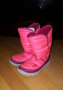 The North Face Girls Winter Boots (fit like a size 1)