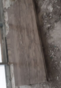 Tuiles de marbre 2pieds par 4 pieds