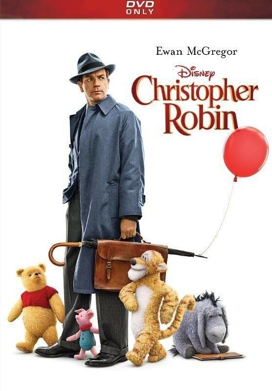 Christopher Robin (DVD 2018) - New Sealed! FAST FREE SHIP