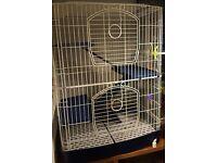 3 tier chinchilla rat ferret degu cage £30