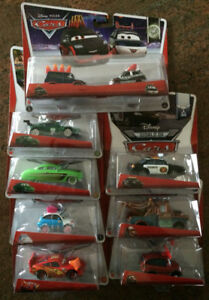 COLLECTABLE TOYS DISNEY 7  PIXAR CARS & 1 TWIN PACK