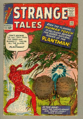 Strange Tales #113, 1st Plantman