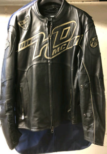 Harley Davidson motorcycle leather jacket