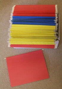 Hanging File Folders - Letter Size