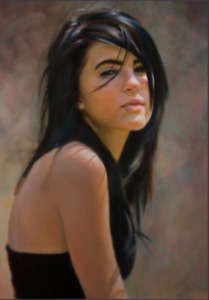 Portraits hand painted on canvas from your photos by Portraitist