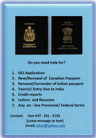 OCI and India Visa