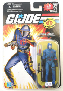 G. I. JOE Cobra Leader Code Name Cobra Commander by Hasbro 2008