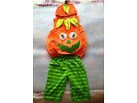 Halloween Pumpkin Outfit 1 - 2 years
