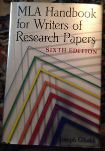 MLA Handbook for Writers of Research Papers Sixth Edition