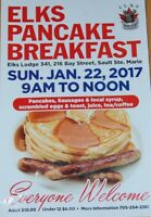 ELKS ANNUAL PANCAKE BREAKFAST