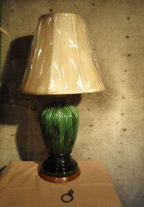 TALL ART POTTERY VINTAGE TABLE LAMP West Island Greater Montréal image 3