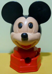Vintage 1968 Mickey Mouse Gumball Machine