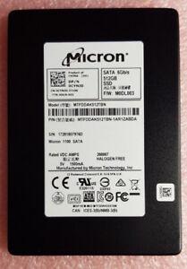 Micron 1100 512GB MTFDDAK512TBN SATA 2.5 SSD Drive SATAIII