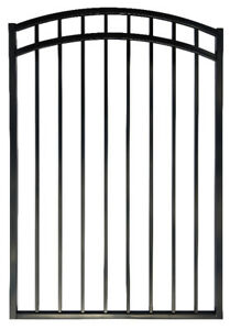 'Horizon' Arched Iron Ornamental Gates, Singles & Doubles