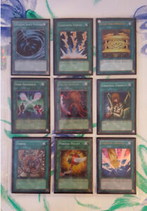 Spell/Trap Yu-Gi-Oh Cards Lot