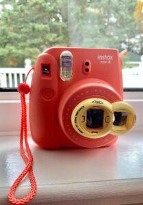 Fujifilm Instax mini 8 Instant Camera - includes selfie mirror