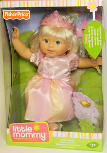 """Fisher-Price Little Mommy Sweet As Me 14"""" Princess Doll New"""