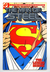 ( COLLECTORS ) Man of Steel #1 Comic Book 1986 Mint