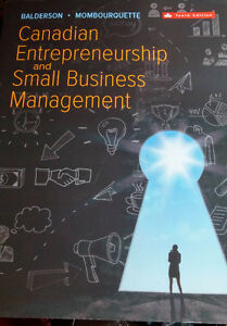 Canadian Entrepreneurship and Small Business Management 10 Edit.