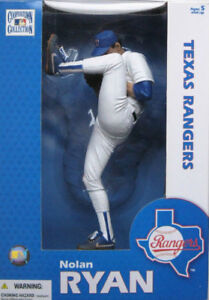 "MCFARLANE NOLAN RYAN 12 INCH COOPERSTOWN COLLECTION FIGURE ""NEW"""