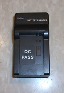 Camera Battery Travel Charger DC4.2V 450mA Chargeur de batterie