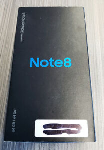 Galaxy Note 8 64GB Noir
