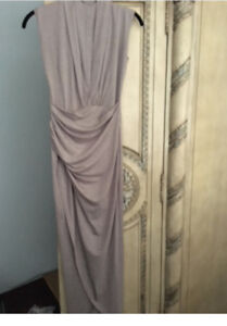 GEORGEOUS TAUPE DRESS