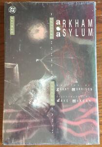 Arkham Asylum Original graphic novel 1988 factory sealed plastic