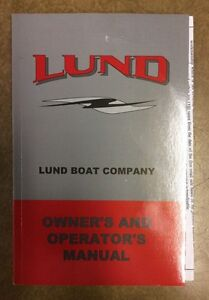 LUND OWNERS MANUAL