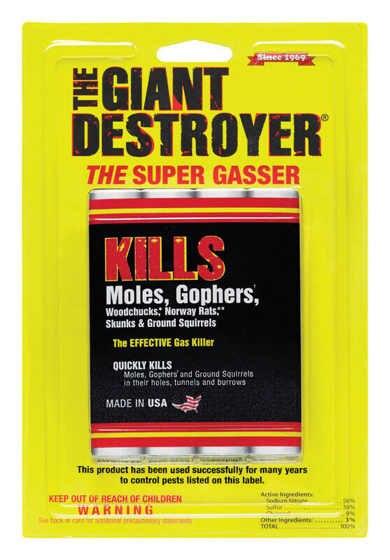 Atlas The Giant Destroyer Gasser Fog For Gophers And Moles