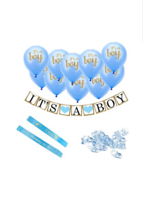 "New. ""Its A Boy"". Baby shower decorations"