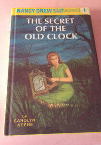 Nancy Drew set of books (complete except for #37)